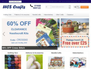 hcscrafts.co.uk screenshot