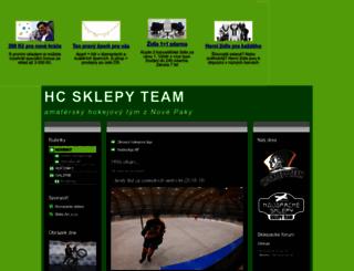 hcsklepy.mypage.cz screenshot