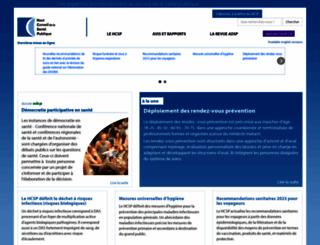 hcsp.fr screenshot