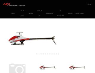 hd-helicopters.com screenshot