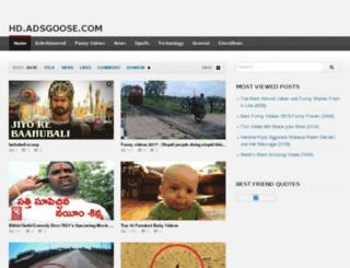 hd.adsgoose.com screenshot