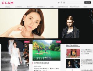 hd.glam.jp screenshot