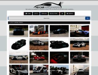 hdcarwallpapers.com screenshot