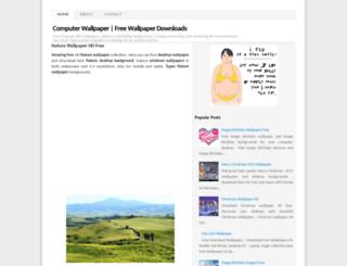 hdcomputerwallpaper.blogspot.com screenshot
