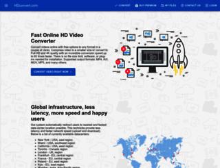 hdconvert.com screenshot