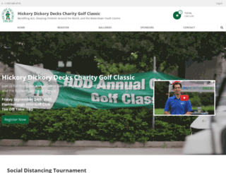 hddgolfclassic.org screenshot