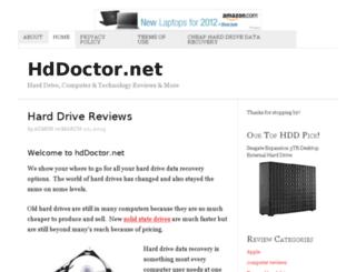 hddoctor.net screenshot