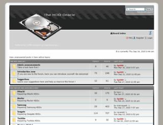 hddoracle.com screenshot