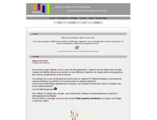 hdehaan.free.fr screenshot