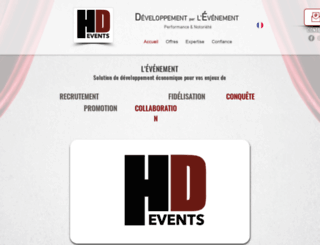 hdevents.fr screenshot