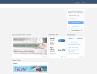 hdfcbank.net screenshot