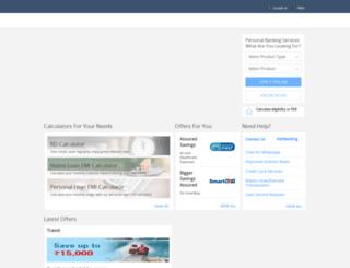 hdfcbank.net screenshot