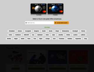 hdfcbank.timescard.com screenshot