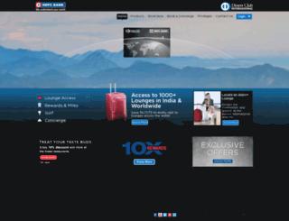 hdfcbankdinersclub.com screenshot