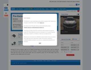 hdfcbankpreowned.gaadi.com screenshot
