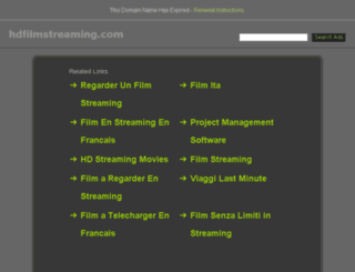 hdfilmstreaming.com screenshot