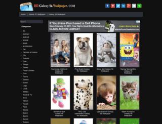 hdgalaxys6wallpaper.com screenshot