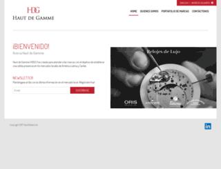 hdgcorp.net screenshot