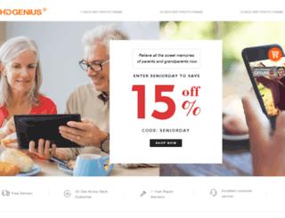 hdgenius.com screenshot