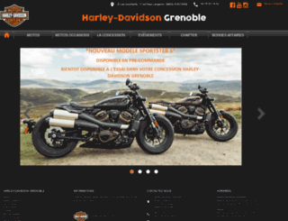 hdgrenoble.com screenshot