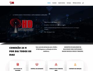 hdinternet.com.br screenshot