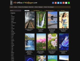 hdiphone6wallpaper.com screenshot