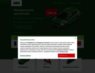 hdiubezpieczenia.pl screenshot