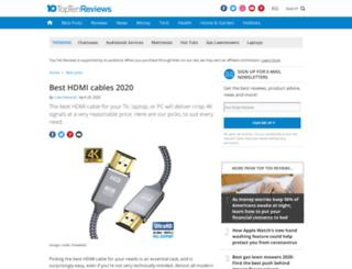 hdmi-cables-review.toptenreviews.com screenshot