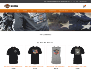 hdmilitarysales.com screenshot