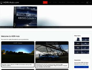 hdri-hub.com screenshot