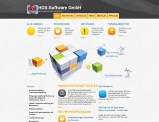 hds-warenwirtschaftssystem.de screenshot