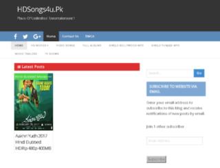 hdsongs4u.pk screenshot