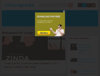 hdsongsvilla.net screenshot