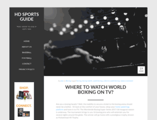 hdsportsguide.com screenshot