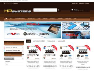 hdsystems.cz screenshot