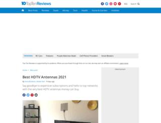 hdtv-antenna-review.toptenreviews.com screenshot