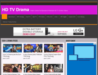 hdtvdrama.com screenshot