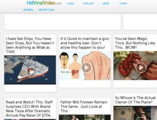 hdviralvideo.com screenshot