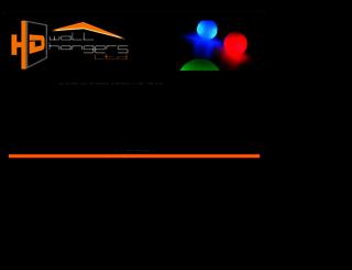 hdwallhangers.com screenshot