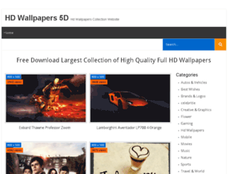 hdwallpapers5d.com screenshot