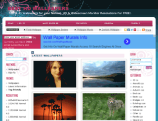 hdwallpaperzone.org screenshot