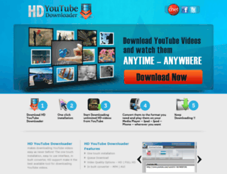hdyoutubedownloaderfree.com screenshot