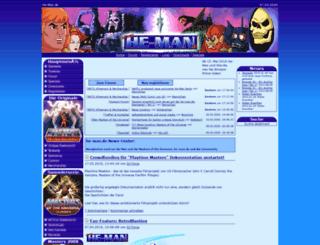 he-man.de screenshot
