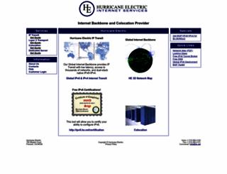 he.net screenshot