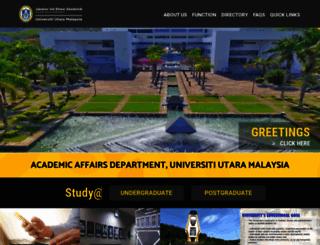 hea.uum.edu.my screenshot