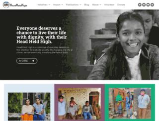 head-held-high.org screenshot