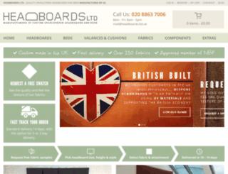 headboardsltdgroup.co.uk screenshot