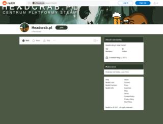 headcrab.pl screenshot