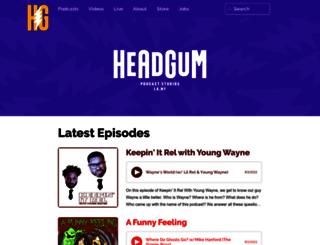 headgum.com screenshot