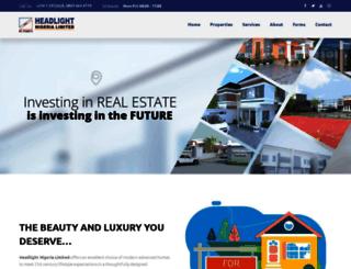 headlightnigeria.com screenshot